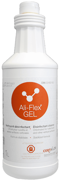 Ali-Flex GEL Low Foam Disinfectant Cleaner for Toilets and Other Vertical Surfaces